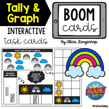 Tally and Graph Up to 10 | Digital BOOM Cards™