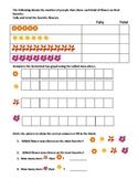 Tally  and bar graph Worksheet