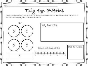 Tally the Skittles