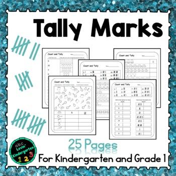 Tallying for Kindergarten or Grade 1