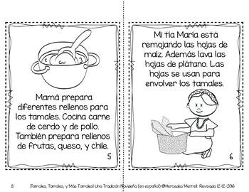 ¡Tamales, Tamales, y Más Tamales!  Una Tradición Navideña (en español)
