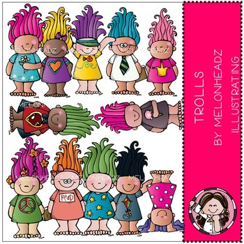 Troll babies clip art - by Melonheadz