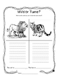 Tame & Wild Animals