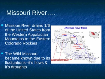 PowerPoint:  Floods--Taming the Missouri River