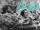 Taming of the Shrew Background Info