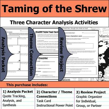taming of the shrew project ideas