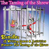 Taming of the Shrew Fun Activities Bundle- 35 games, a debate, free poster! -30%
