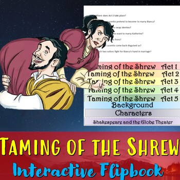Taming of the Shrew Interactive Flipbook