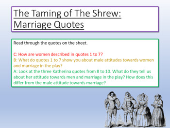Taming of the Shrew - Marriage