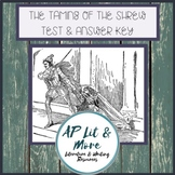 The Taming of the Shrew Test and Answer Key