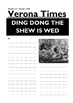 Taming of the Shrew - Writing a News Report based on the Wedding Ceremony