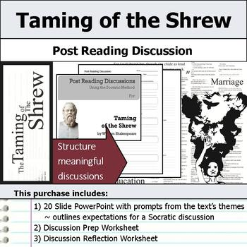 Taming of the Shrew by William Shakespeare - Socratic Method Discussions