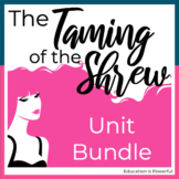 The Taming of the Shrew by William Shakespeare Unit Bundle