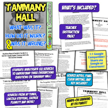 Tammany Hall Investigation: What Was It? How Did Tammany Work? Was it Wrong?