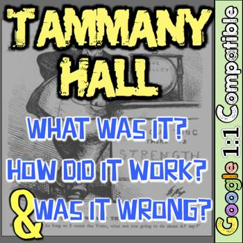 Tammany Hall Investigation: What Was It? How Did Tammany W