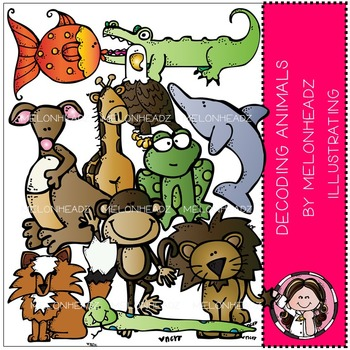Tammy's decoding animals by Melonheadz COMBO PACK