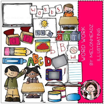 Tammy's word work by Melonheadz COMBO PACK