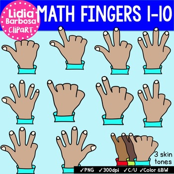 Tammy's Math Fingers (Meets NY Standards)