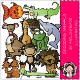Decoding animals clip art - Melonheadz clipart