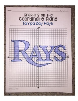 Tampa Bay Rays (Coordinate Graphing Activity)