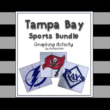 Tampa Bay Sports Bundle - a Coordinate Plane Graphing Activity