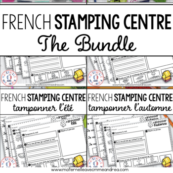 Tamponner les quatre saisons - THE BUNDLE (FRENCH Stamping Sheets)