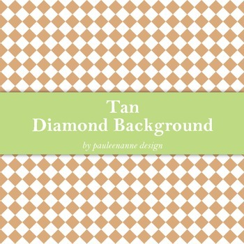 Tan Diamond Background