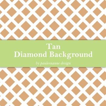 Tan Diamond Pattern Background