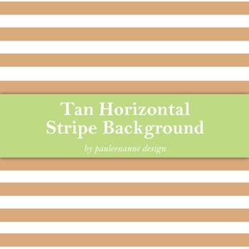 Tan Horizontal Stripe Background