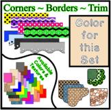 Tan Pastel Borders Trim Corners *Create Your Own Dream Cla