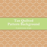 Tan Quilted Pattern Background