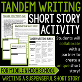 Tandem Writing Short Story Activity