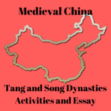 Tang and Song Dynasties Medieval China Activities Reading