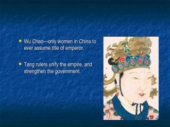 Tang and Song Empire Lesson Plans, Notes, Powerpoint, Handouts.  History 101