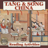 Medieval China: Tang & Song Period Reading Activities