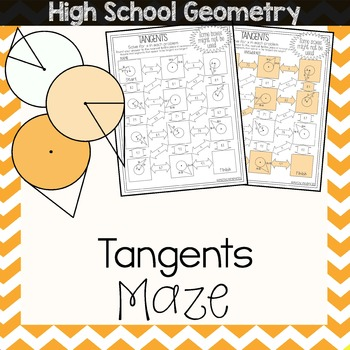 Tangents of Circles Maze