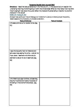 double entry journal template for word - tangerine double entry journal by galmar teachers pay