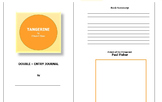 Tangerine Double Entry Journal Template