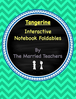 Tangerine Interactive Literature and Grammar Notebook Foldables