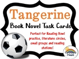 Tangerine Novel Book Task Cards Small Group Center Stations Game
