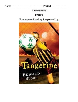 Tangerine Novel Four Square Log - Part 1