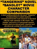 """Tangerine"" Novel ""Sandlot"" Movie Character Comparison"