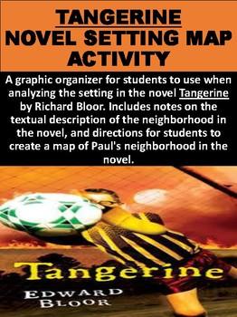 """""""Tangerine"""" Novel Setting Map Activity"""