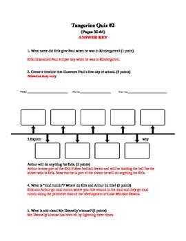 Tangerine Quiz #2 pages (32-64)