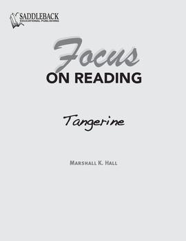 Tangerine Study Guide: Focus on Reading