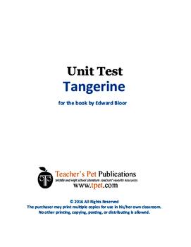 Tangerine Unit Test