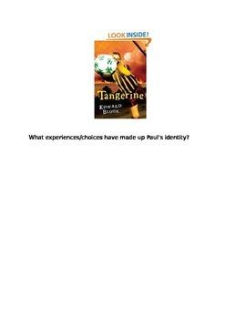 Tangerine Writing Prompts