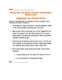 Tangerine by Edward Bloor Book Cover End/ Summative Activity