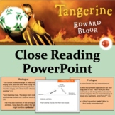 Tangerine by Edward Bloor - Close Reading PowerPoint