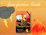 Tangerine by Edward Bloor Introduction & Anticipation Guide